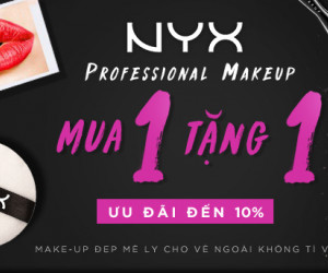 NYX - Professional makeup - Buy one get one tại Lotte